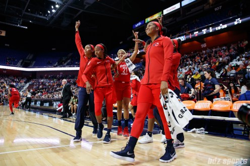 WNBA Connecticut Sun vs Washington Mystics -June 13, 2018