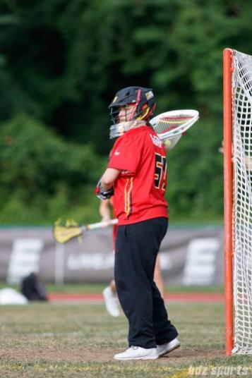 Baltimore Brave goalie Ellie Degarmo (51)