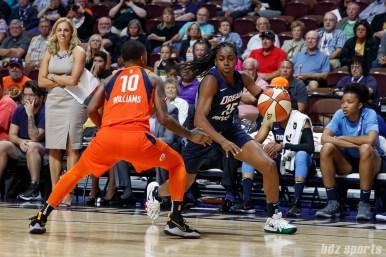 Atlanta Dream guard Tiffany Hayes (15)