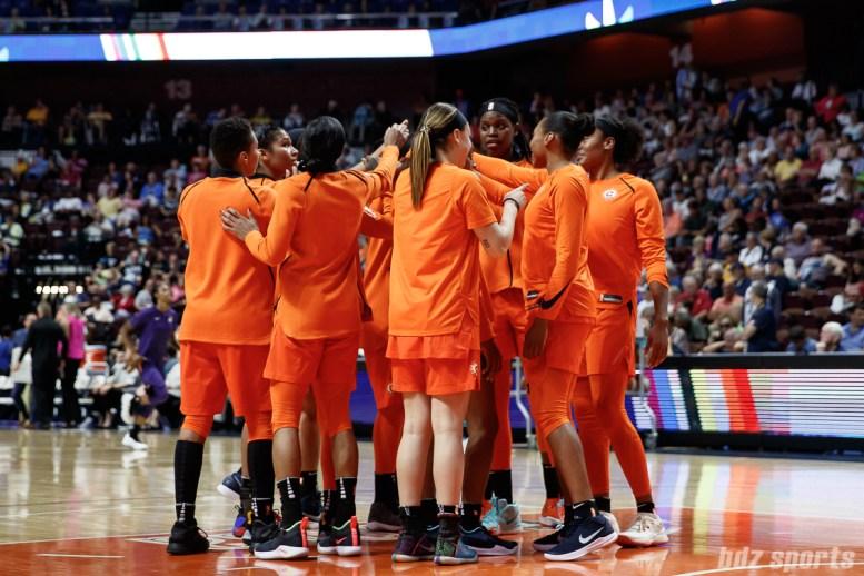 WNBA Connecticut Sun vs Phoenix Mercury - July 13, 2018