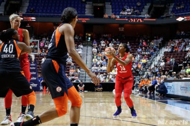 Washington Mystics guard Tierra Ruffin-Pratt (14)