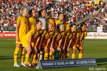 Australian women's national soccer team starting XI