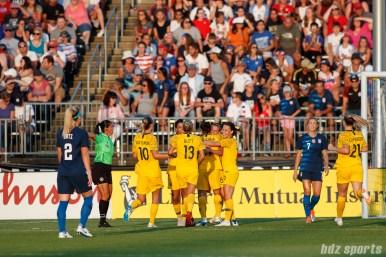 Tournament of Nations - USA vs Australia - July 29, 2018
