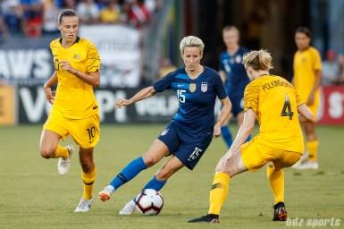 Team USA midfielder Megan Rapinoe (15)