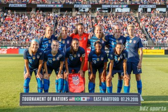 U.S. women's national soccer team starting XI
