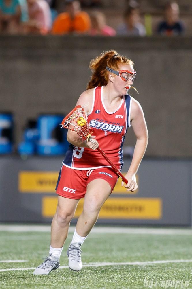 Boston Storm midfielder Hannah Murphy (8)
