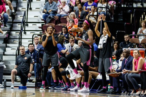 WNBA - Connecticut Sun vs Las Vegas Aces - August 5, 2018