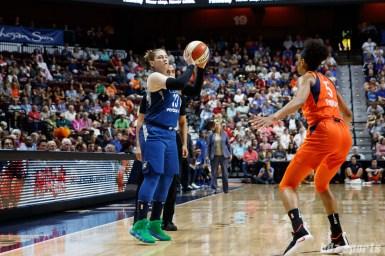 Minnesota Lynx guard Lindsay Whalen (13)