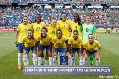 Brazil women's national soccer team starting XI