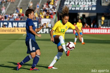 Team Brazil defender Rilany (13)