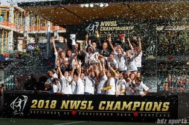 2018 NWSL Championship Game - North Carolina Courage vs Portland Thorns September 22, 2018