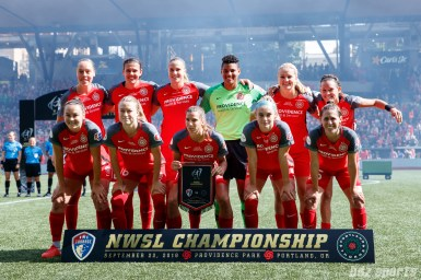2018 NWSL Championship Game - North Carolina Courage vs Portland Thorns September 22, 2018
