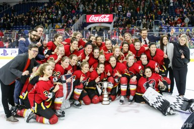 CWHL Clarkson Cup - Calgary Inferno vs Montreal Les Canadiennes - March 24, 2019