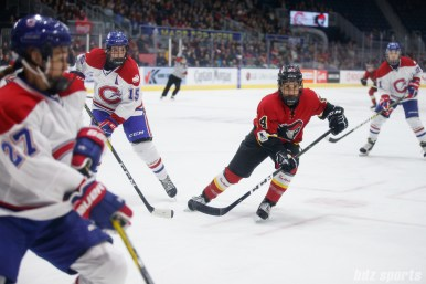Calgary Inferno forward Brianna Decker (14)