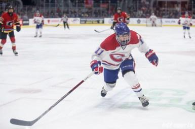 Montreal Les Canadiennes forward Jill Saulnier (11)