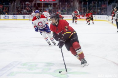 Calgary Inferno defender Kelly Murray (5)