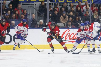 Calgary Inferno forward Rebecca Johnston (6)