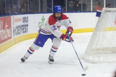 Montreal Les Canadiennes defender Catherine Daoust (12)