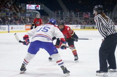 Calgary Inferno forward Brianna Decker (14)