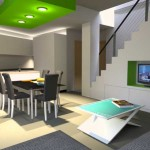 Transformation intérieure d'une habitation à Haccourt