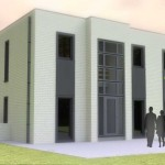 Nouvelle construction d'une habitation 4 façades à Oupeye