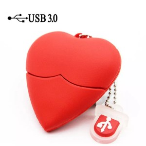 Clé USB Cœur
