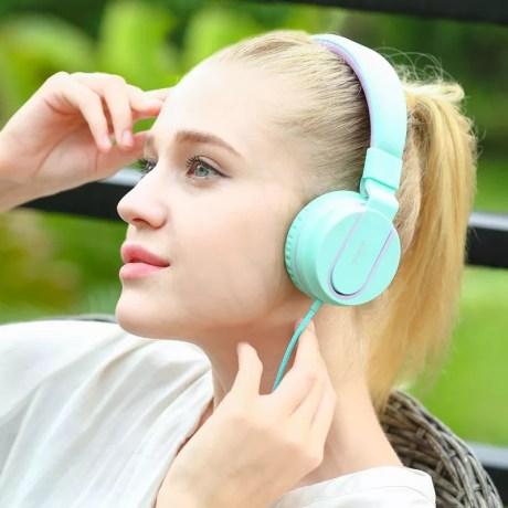 Casque Audio Fashion I35S Léger, réglable avec microphone