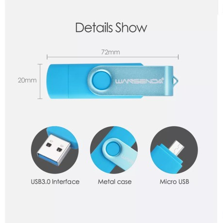 Clé Micro USB Haute vitesse OTG