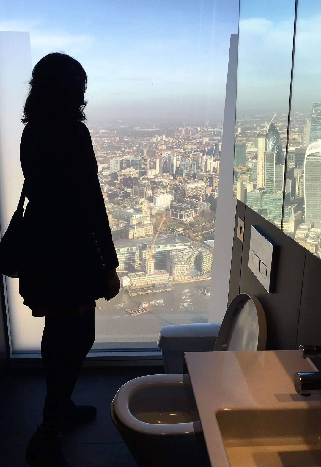 A BIRTHDAY VISIT TO THE SHARD: A THRONE WITH A VIEW