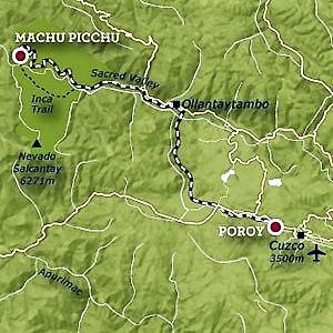 Hiram Bingham Journey Map