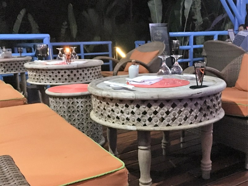 The super swish Nayara Resort Asia Luna Table