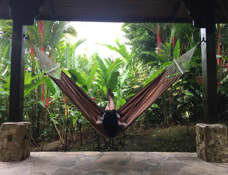 The super swish Nayara Resort Hammock