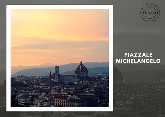 Postcard worthy view of Florence, Piazzale Michelangelo