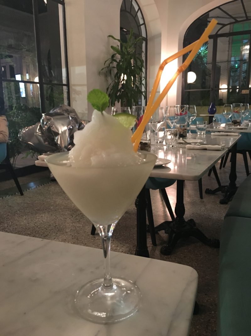 Eclectico at Paseo 206: Cuban & Italian Fusion Restaurant Review Daiquiri