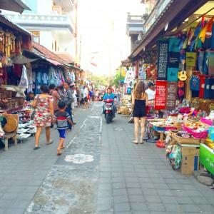 Ubud, Bali, market, street, shopping