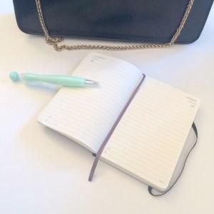get organised, moleskine, pen, goals