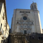 Girona, Spain, colour, building, street, cathedral