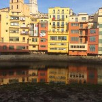 Girona, Spain, colour, building, river