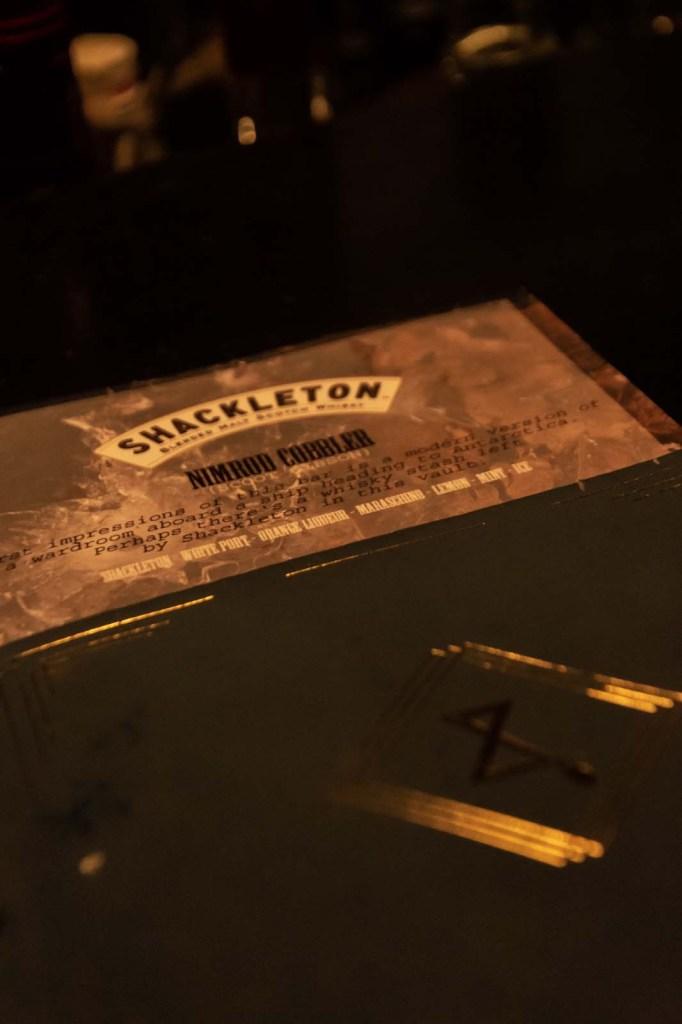 Shackelton Whiskey, Jigger and Spoon, beste Bar in Stuttgart