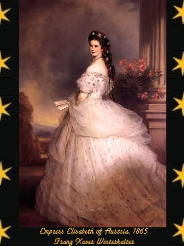Empress Elisabeth of Austria - Franz Xaver Winterhalter - 1865