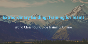 Extraordinary Guiding - Training for Teams