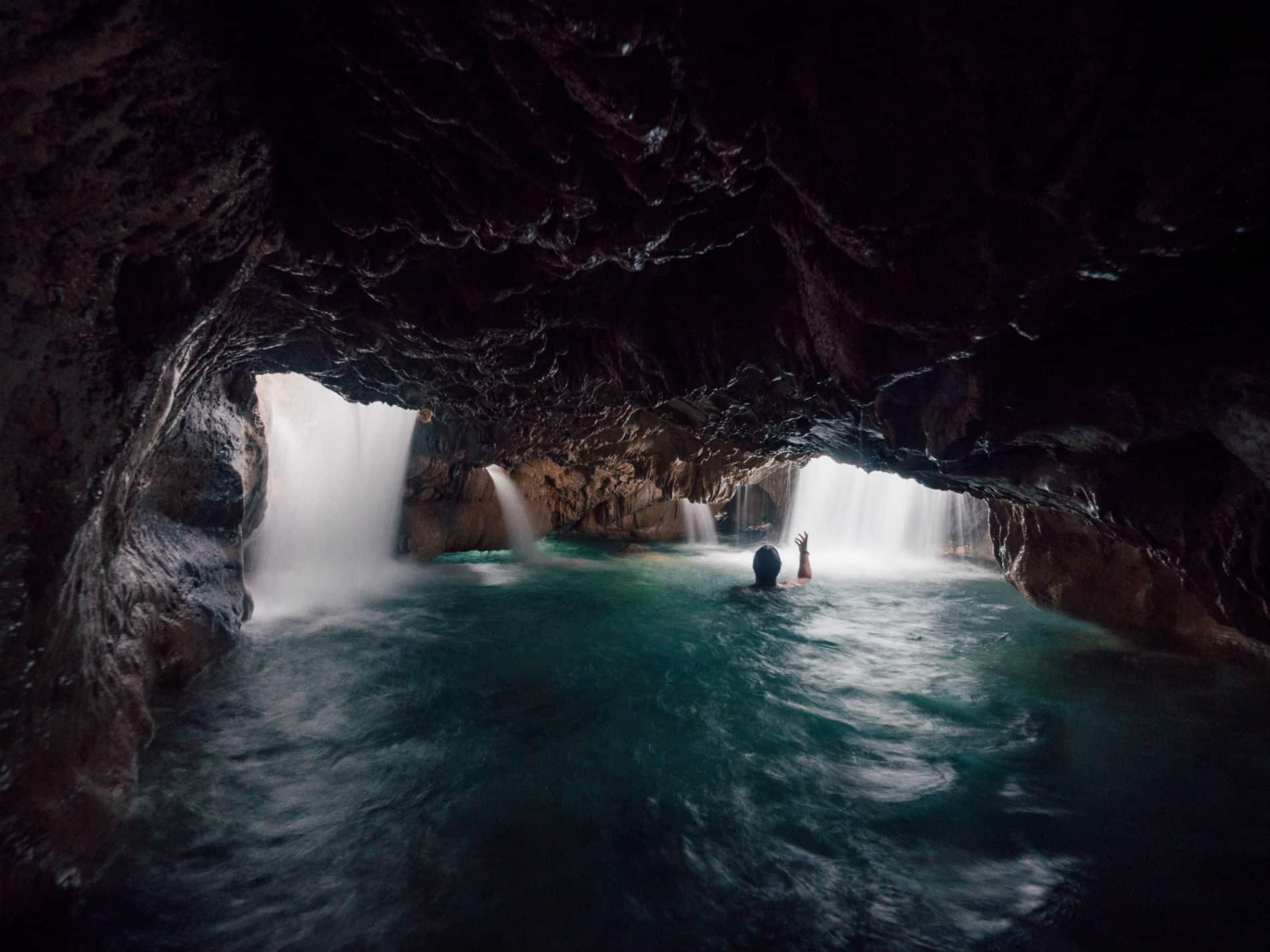 Jump Down The Rabbit Hole At Reach Falls In Jamaica