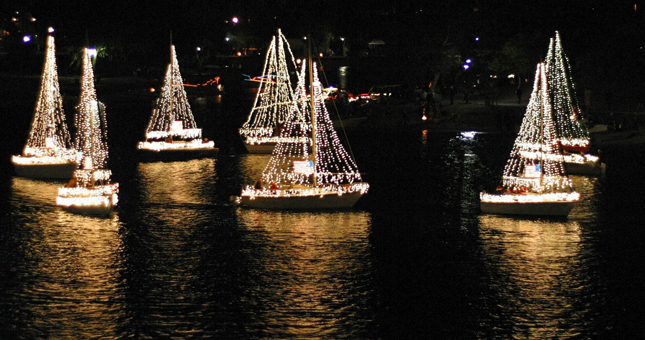 Mission Bay Christmas Boat Parade Of Lights Mission Beach