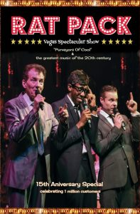 Rat Pack Vegas Spectacular Show at the Winter Gardens Blackpool 9th November 2016