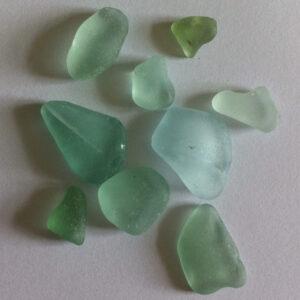 Shades of sea glass