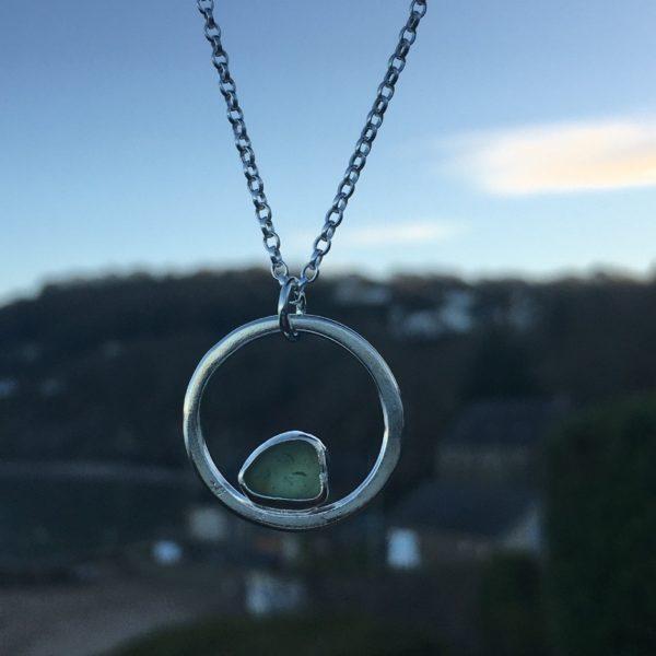 seafoam sea glass circle-2