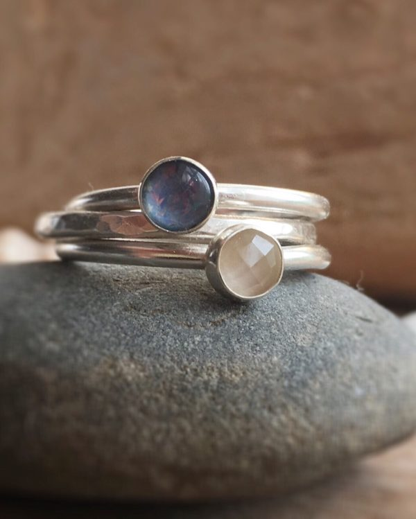 The Sea Stacking rings