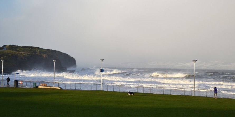 Family Reunion On A Winter Day In Portrush Winter Weather In Portrush