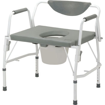 Heavy Duty Stationary Commode Shower Chair