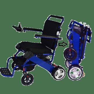 Fold and Go Power Wheelchair
